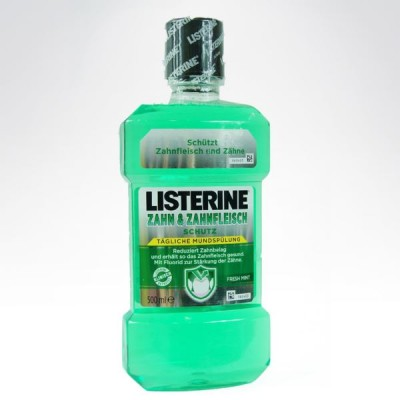 Listerine 500ml Fresh Mint