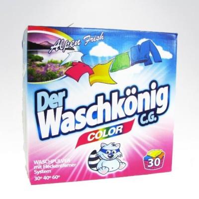 Waschkonig 32 prania - 2,4kg proszek do koloru