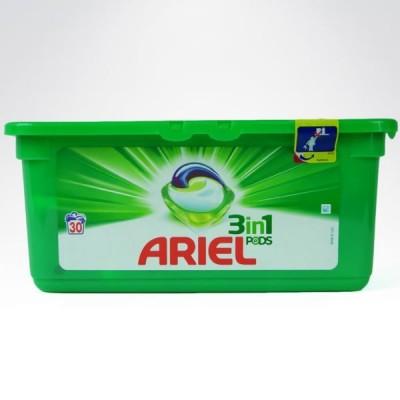 Ariel 3in 30 sztuk kapsułki do prania uniwersalne