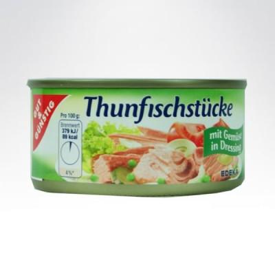 GG tuńczyk w puszce 185g Zielony