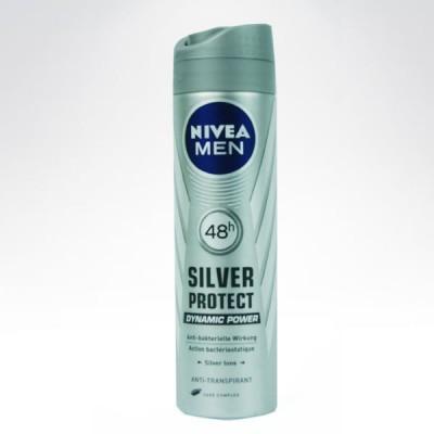 Nivea 150ml spray men Silver Protect