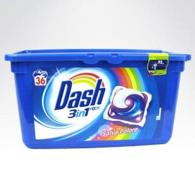 Dash 3w1 36 kapsulki  kolor