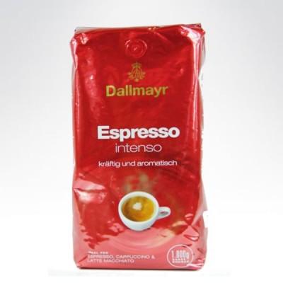 Dallmayr ziarno 1kg Espresso INTENSSO czerwona