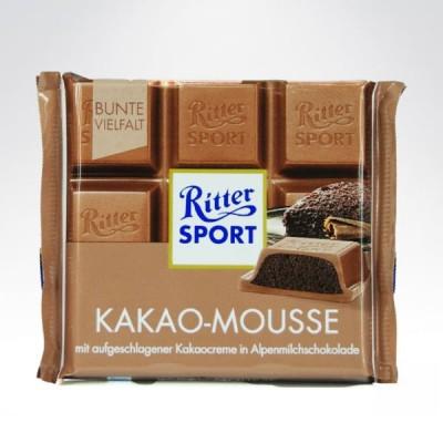 Ritter SPORT 100g Kakao - Mousse