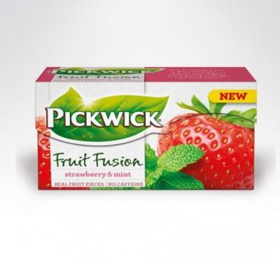 Pickwick herbata 20 torebek Truskawka-mięta