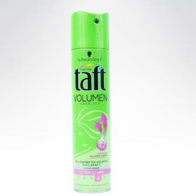 Taft 250ml lakier Collagen zielony z różem 4