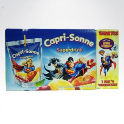 Capri Sonne 10 sztuk kartonik Superdrink