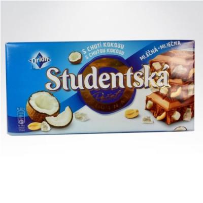 Studentska czekolada 200g kokos