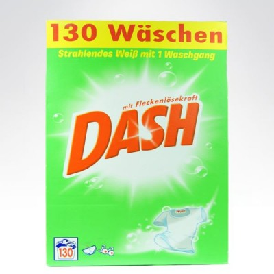 Dash 130 prań  8450kg proszek do BIAŁEGO