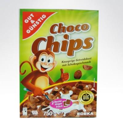 GG płatki śniadaniowe 750g Czekoladowe(Małpka)