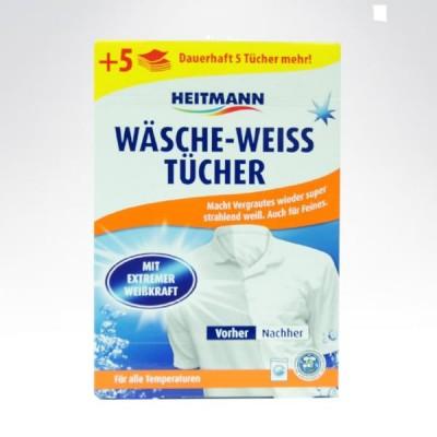 Heitmann 20 sztuk chustki wybielające