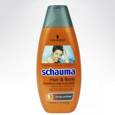 Schauma meski szampon hair body 400ml