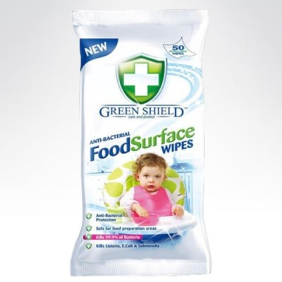 Green Shield chusteczki FOOD SURFACE ANTYBAKTERYJN