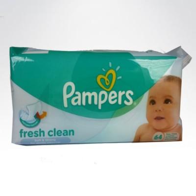 Pampers chusteczki nawilżane 64szt. Fresh Clean