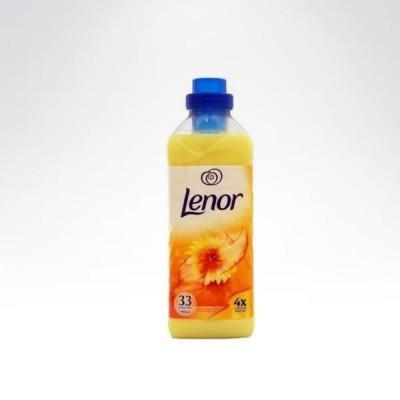 Lenor 33 990 ml płyn do płukania żółty