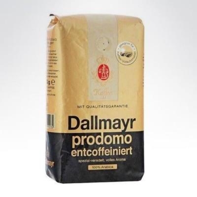 Dallmayer 500g kawa ziarnista bezkofeinowa