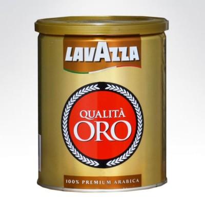 Lavazza kawa mielona 250g Qualita Oro puszka